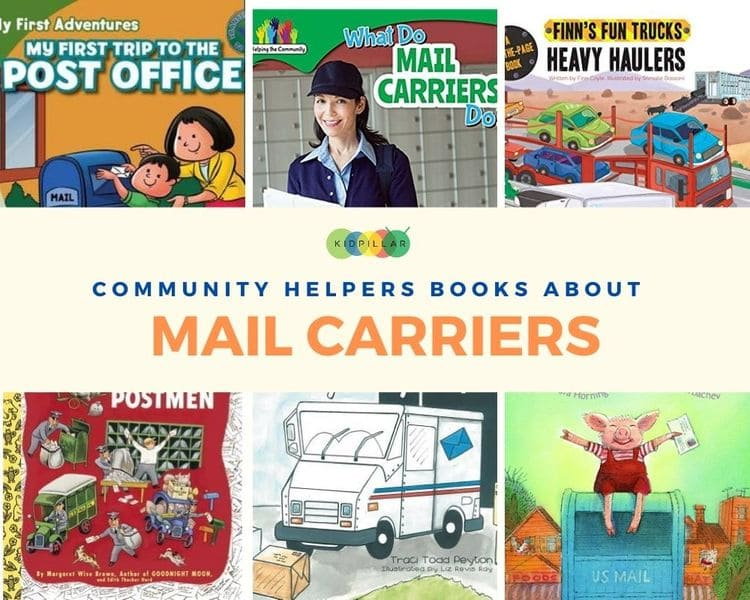 Mail carriers Community helper books for kids