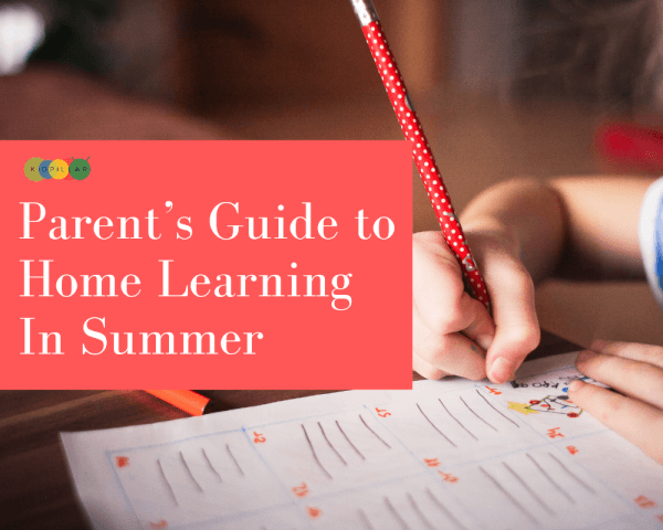 Home learning in summer