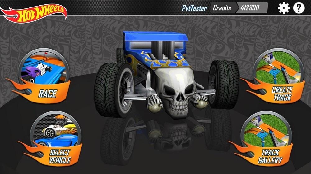 Screenshot of Hot Wheels Track Builder