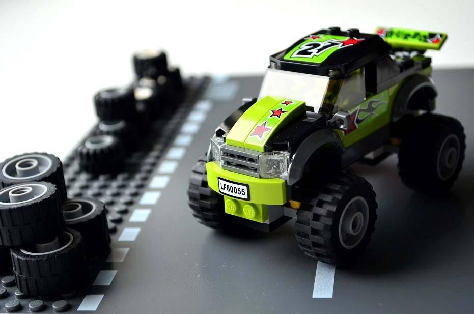 Monster Toys For Boys : Lego city monster truck kids nook