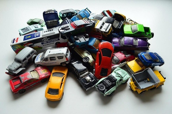 Die cast toy cars 1:64 scale from various manufacturers