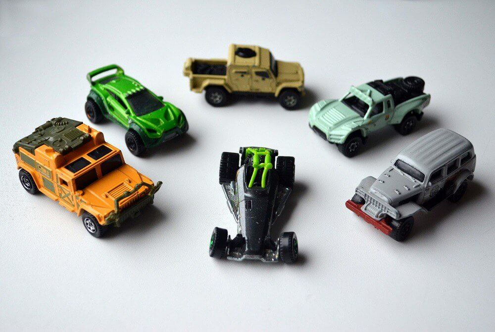 matchbox off road and all terrain cars