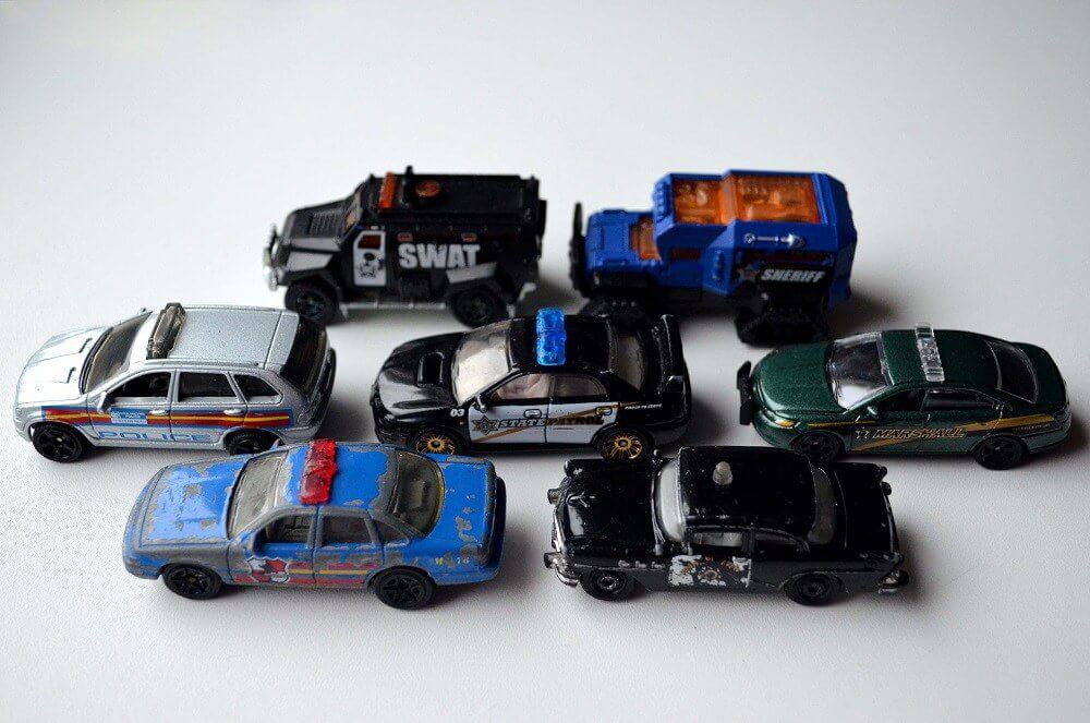 matchbox police cars swat and patrol