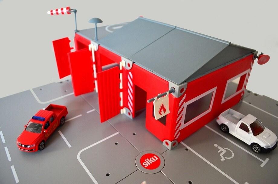 Siku World Fire Station playset