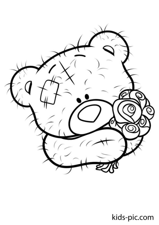 28 Free Teddy Bear Coloring Pages  Kids-Pic.com
