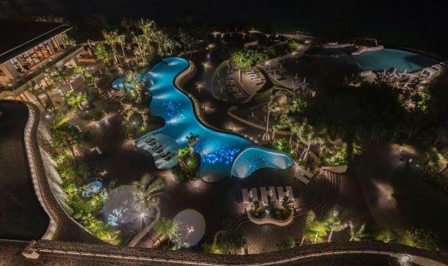 ハイアットリージェンシー瀬良垣の夜景