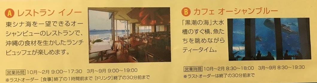沖縄美ら海水族館のランチができる場所