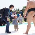 川崎大師 子供フェスタ 相撲体験