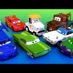 10 Disney Cars 2 Body Shop Ramone, Krate Rainson-Wash, Wingo with Flames, DJ with Flames Pixar toys