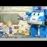 Робокар Поли : Правила дорожного движения – Безопасная езда на велосипеде Часть 1 (мультфильм 9)