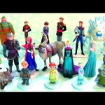20 Frozen Mega Figures Playset 20 Figurines from The Walt Disney Film Frozen 2015 Anna Elsa Kristoff