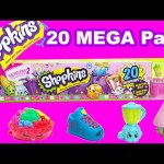 20 MEGA Pack SHOPKINS Season 2