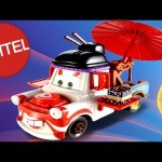 2013 Cars 2 Kabuki Mater Deluxe Diecast Mattel 1:55 scale Disney Carl Attrezzi Cricchetto Maters
