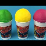 3 Play Doh Ice Cream Surprise Toys Minions Teenage Mutant Ninja Turtles, Super Mario Character Luigi