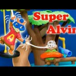 ALVIN AND THE CHIPMUNKS Nickelodeon Alvin's Real Life Spider Powers Spiderman Alvin Video Toy Parody