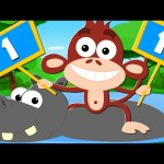 Animals Learn To Count | Learn To Count | Numbers Song | Learn Numbers | Songs For Kids And Baby