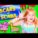 ASSISTANT How to Make Fake Blood and Injuries DIY Toys Video Unboxing
