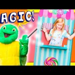 ASSISTANT The Magical Turtle Funny Huge Magic Challenge Toys Video