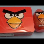 Baby Big Mouth Surprise Egg Lunchbox! Angry Birds Edition! With a HUGE JUMBO Surprise Egg!