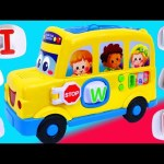 BABY Toys! VTech Count & Learn Alphabet Bus Learning Spelling Phonics Numbers Colors Counting