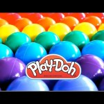 """""""BALL PIT SHOW"""" Learning Colors Surprise Toys Play Doh Minions Thomas RainbowLearning"""