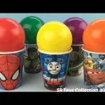 Balls Surprise Cups Spider Man Teenage Mutant Ninja Turtles Justice League Mini Figz Surprise Eggs