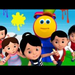 Bob The Train | Bob And The Land Of Magical Colors | Learn Colors | The Colors Song