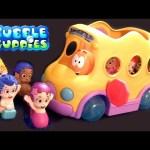 Bubble Guppies Swim Sensational School Bus Swim-Sational Autobús Escolar Nickelodeon Scuolabus