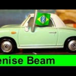 Cars 2 Denise Beam Fan #1 of brazilian racer Carla Veloso Disney Pixar Mattel