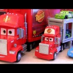 Cars Mega Mack Raceworld Playset Pixar Disney World Grand Prix toy review Caminhão