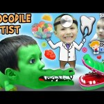 Chase's Corner: CROCODILE DENTIST!  Snap! Ouch! w/ SCENTOS Scented Dough (#32) | DOH MUCH FUN