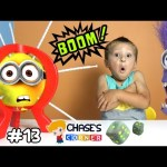 Chase's Corner: EXPLODING MINIONS!  Boom Boom Balloon Game!  !POP! !POP! (#13) | DOH MUCH FUN