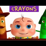 Crayons Finger Family 3D Rhymes | Nursery Rhymes For Babies | 3D Animation For Kids