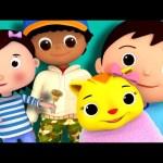 Ding Dong Bell | Nursery Rhymes | By LittleBabyBum!