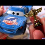 Dinoco Lightning Mcqueen diecast Piston Cup Trophy Mattel Disney Cars
