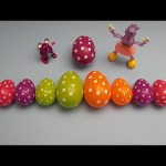 Disney Cars Surprise Egg Learn-A-Word! Spelling Fruit! Lesson 9