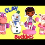 Disney Doc McStuffins Surprise Clay Buddies Unboxing Disney Junior Channel