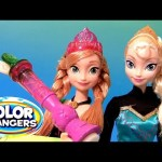 Disney Frozen Color Magic Anna Doll in Her Coronation Dress With Elsa Color Changing Dolls