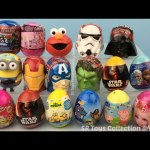 Disney Frozen Paw Patrol Peppa Pig Elmo Minions Shopkins Barbie Iron Man Hulk StarWars Surprise Eggs