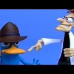 Disney Phineas e Ferb Brinquedos com Agent Perry and Dr Doofenshmirtz Revisao em Portugues