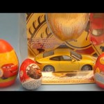 Disney Pixar Cars Surprise Egg Collection! Fun Egg Opening Party!
