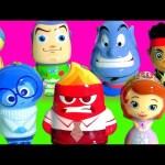 Disney Pixar Christmas Ornaments Surprise Inside Out Joy Sadness Sofia Anger Genie Aladdin Buzz