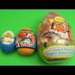 Disney Planes Surprise Eggs Learn Sizes Big Bigger Biggest! Opening Eggs with Toys and Candy!