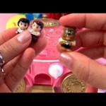 Disney Princess Coach Dispenser Squinkies Celebration from Blip Toys with Cinderella Belle Ariel