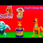 DONT DROP SCOOBY DOO Game Cartoon Network Scooby Doo With Lion Guard Video Toy Unboxing