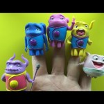 Dreamworks Home Finger Family Nursery Rhymes