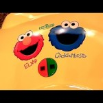 Elmo Cookie Monster Waffle Maker Review From Sesame Street Waflera Electrica