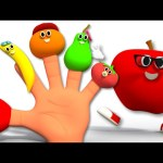 Finger Family Fruits | Nursery Rhymes For Kids And Childrrens | Fruits Song For Babies
