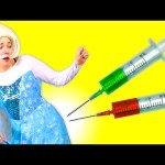FROZEN ELSA vs DOCTOR! Dr Spiderman! Frozen Elsa is Sick! SUPERHERO MOVIE KIDS FUN IN REAL LIFE IRL