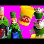 FROZEN Wedding Princess Anna & Kristoff – Disney Troll Wedding Set – Magiclip Elsa Play Doh Clay